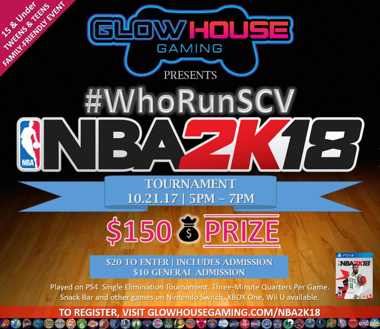 NBA 2K18 Tournament Tweens & Teens