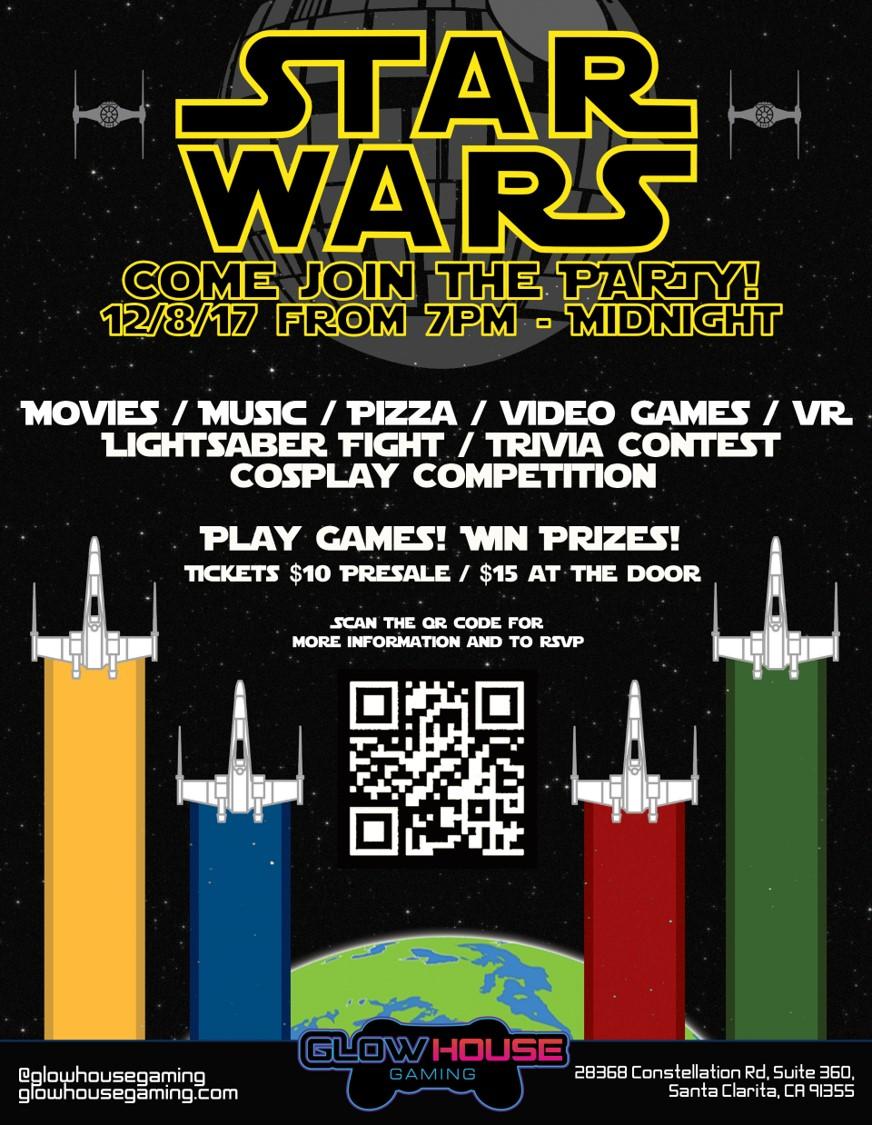 Star Wars Event 12-8-17