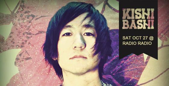 Kishi Bashi - Oct 27 at Radio Radio