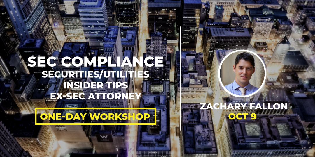 Workshop Capilarity #BLOCKCON SEC Compliance, Securities vs Utilities, ICO, Insider Tips