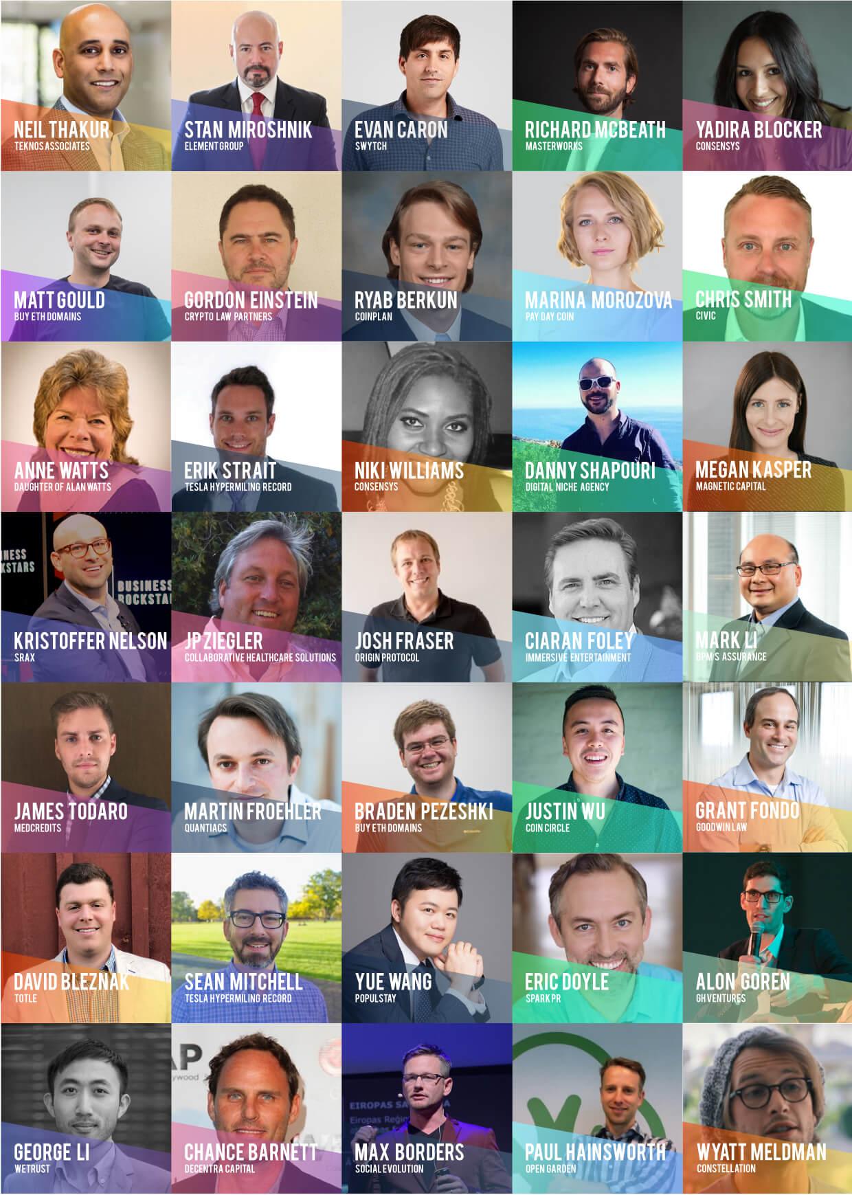 BLOCKCON 2018 Speakers 2
