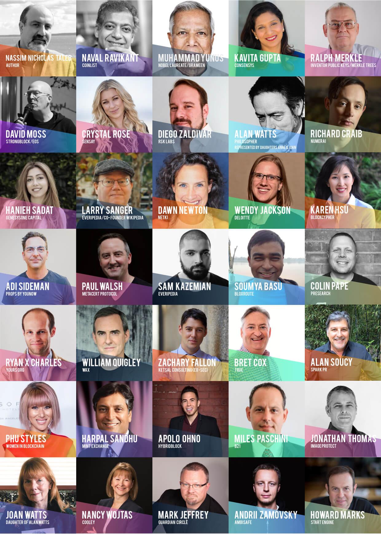 BLOCKCON 2018 Speakers 1