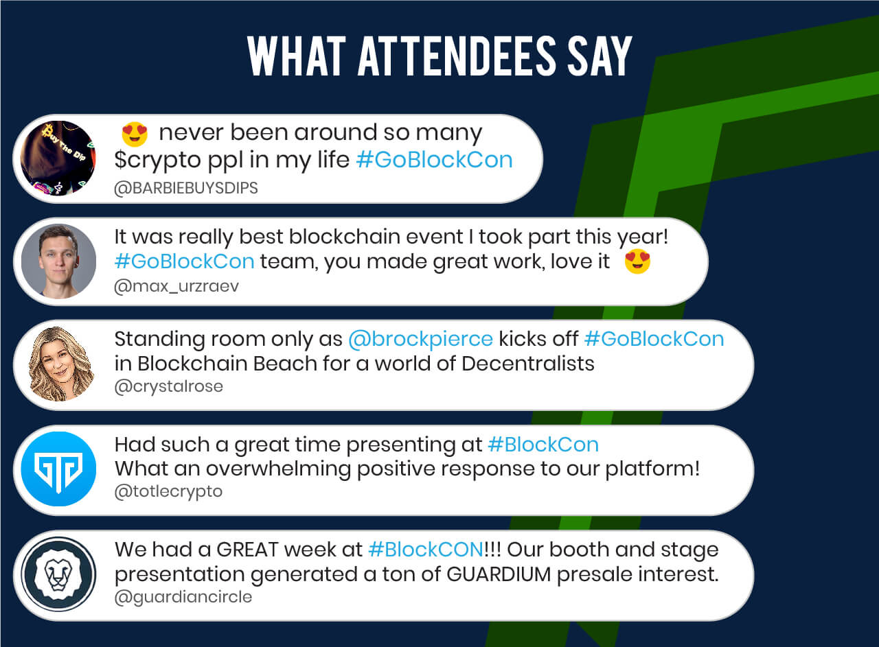 BLOCKCON ATTENDEES LIKE BETTER CONFERENCE BEST CONFERENCE