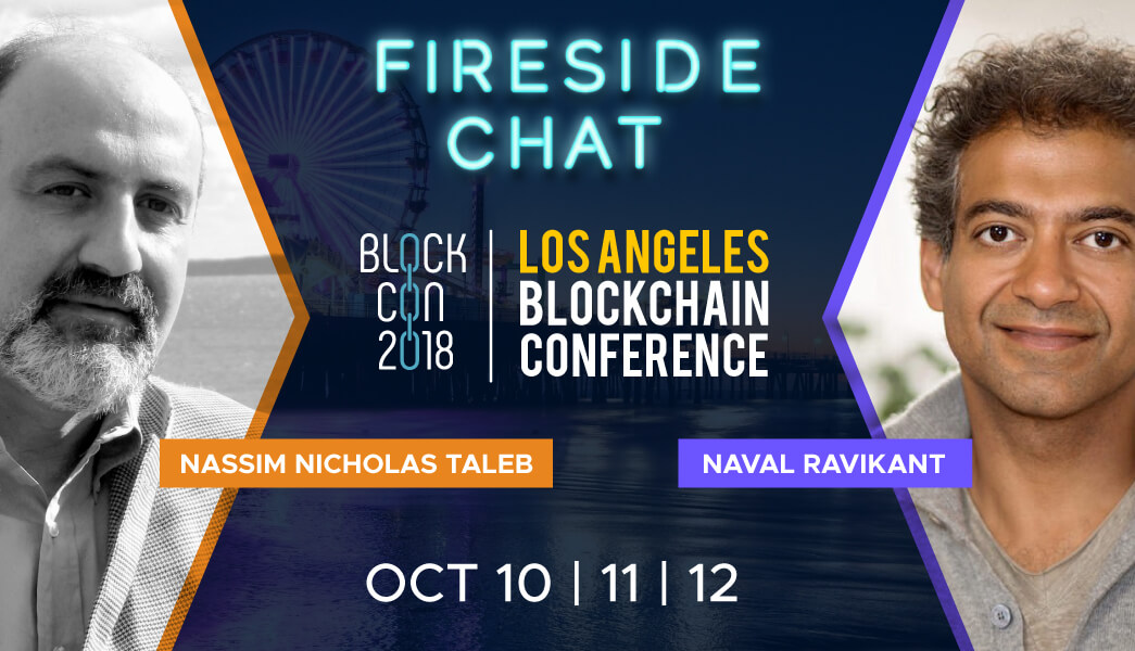 BLOCKCON 2018 Naval Ravikant Nassim Taleb Fireside Chat
