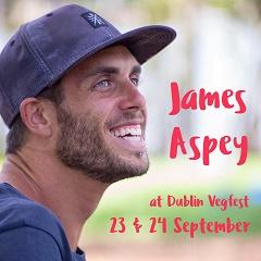 JAMES ASPEY AT DUBLIN VEGFEST 2017 23RD & 24TH SEPTEMBER