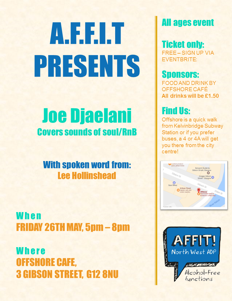 AFFIT POSTER 26TH MAY