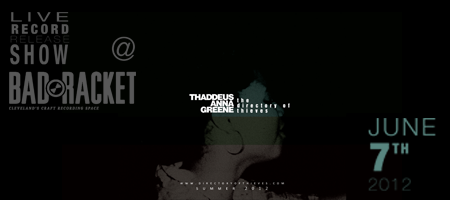 Thaddeus A. Greene | The Directory of Thieves Album Release...
