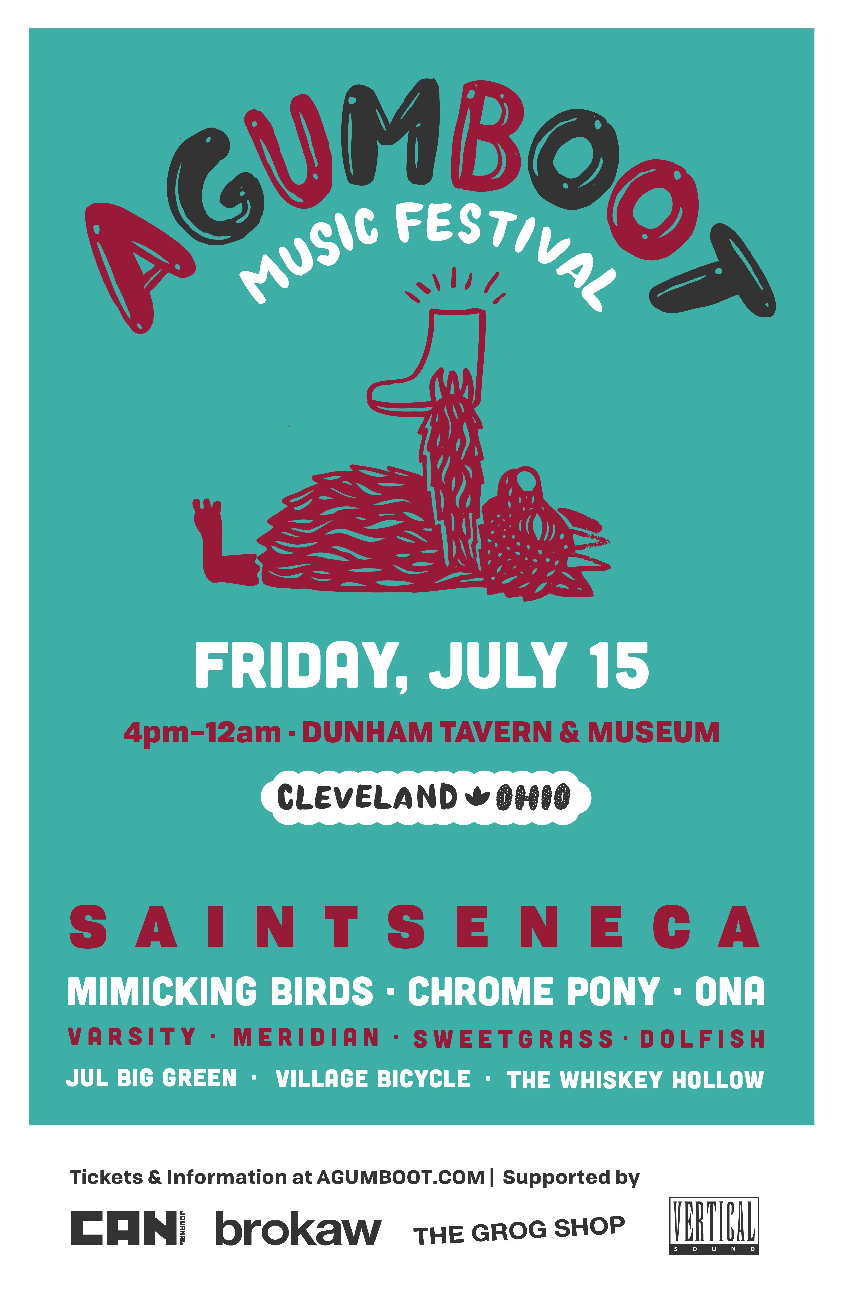 agumboot 2016 Cleveland Music Festival