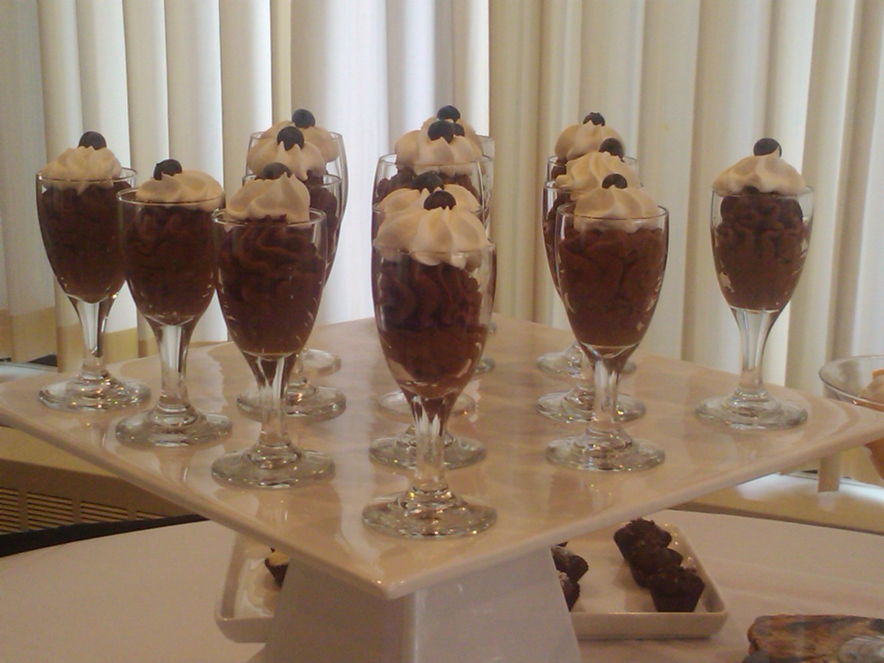 Chocolate mousse by Chef Toby Willis