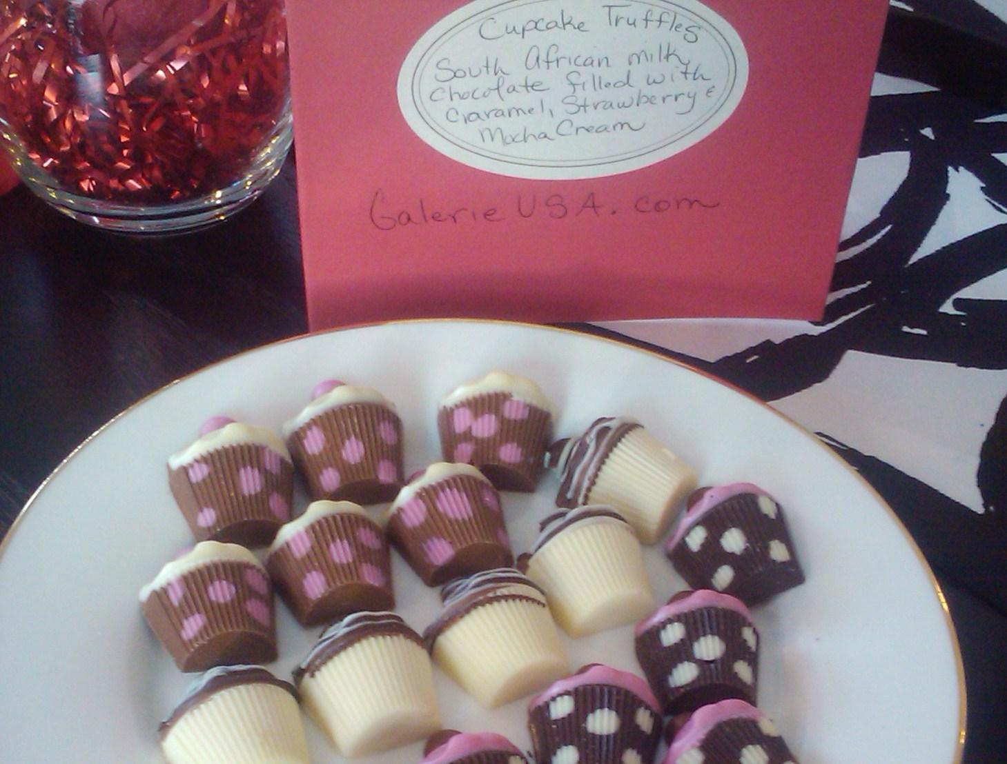 Cupcake truffles... yum