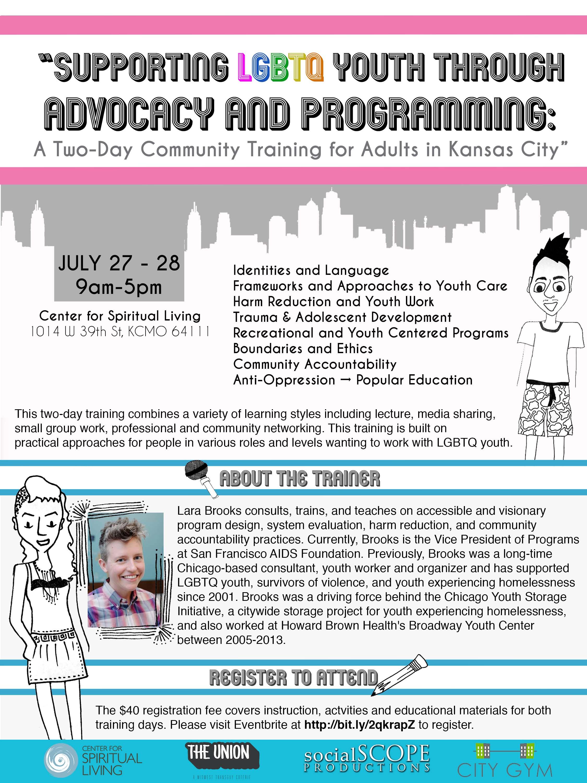 KC LGBTQ Youth Community Training Event Image