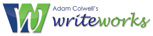 Adam Colwell's writeworks logo