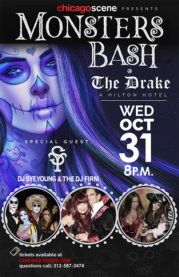 Monsters Bash Halloween Party at the Drake Hotel