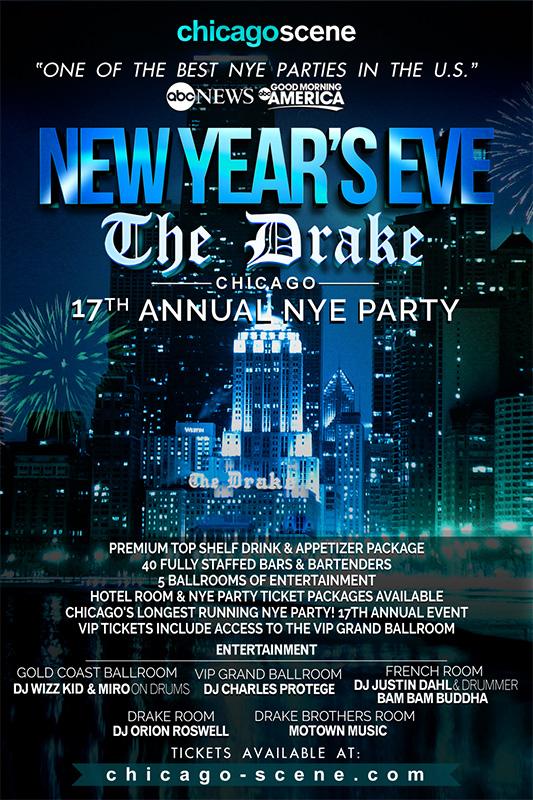 Drake Hotel NYE Pre Party 2017