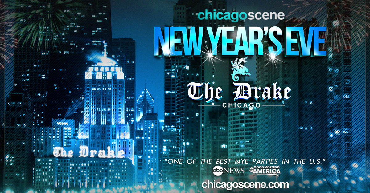 Our 18th annual Chicago Scene New Year's Eve celebration At The Drake Hotel