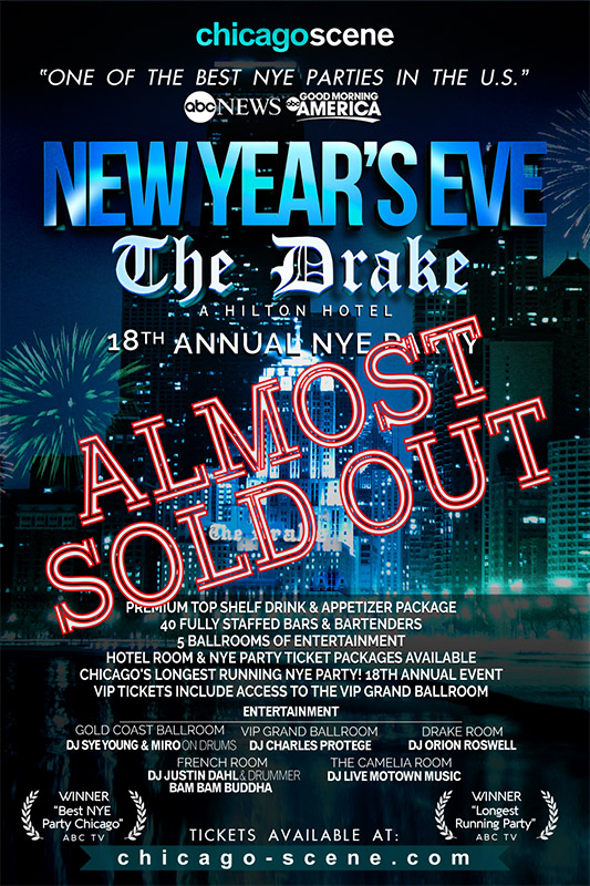 New Years Eve Party Drake Hotel Chicago