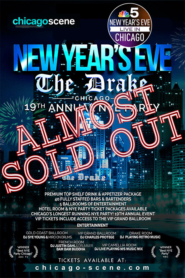 New Years Eve Party Chicago The Drake Hotel
