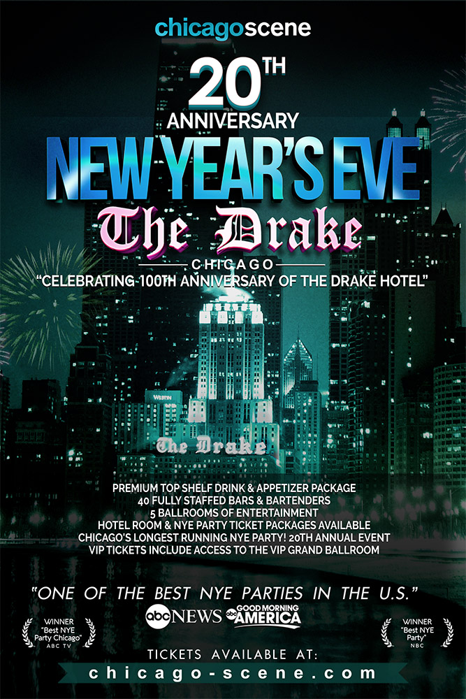 Chicago New Years Eve 2020 New Year's Eve Party   The Drake Hotel 2020   Chicago Scene