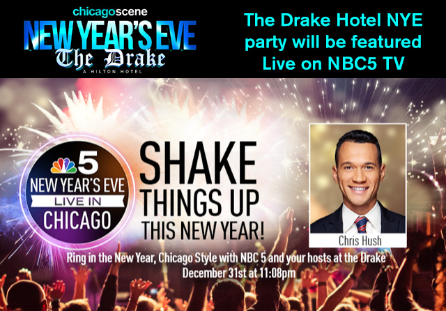 New Years Eve Party Chicago The Drake Hotel NBC5 TV