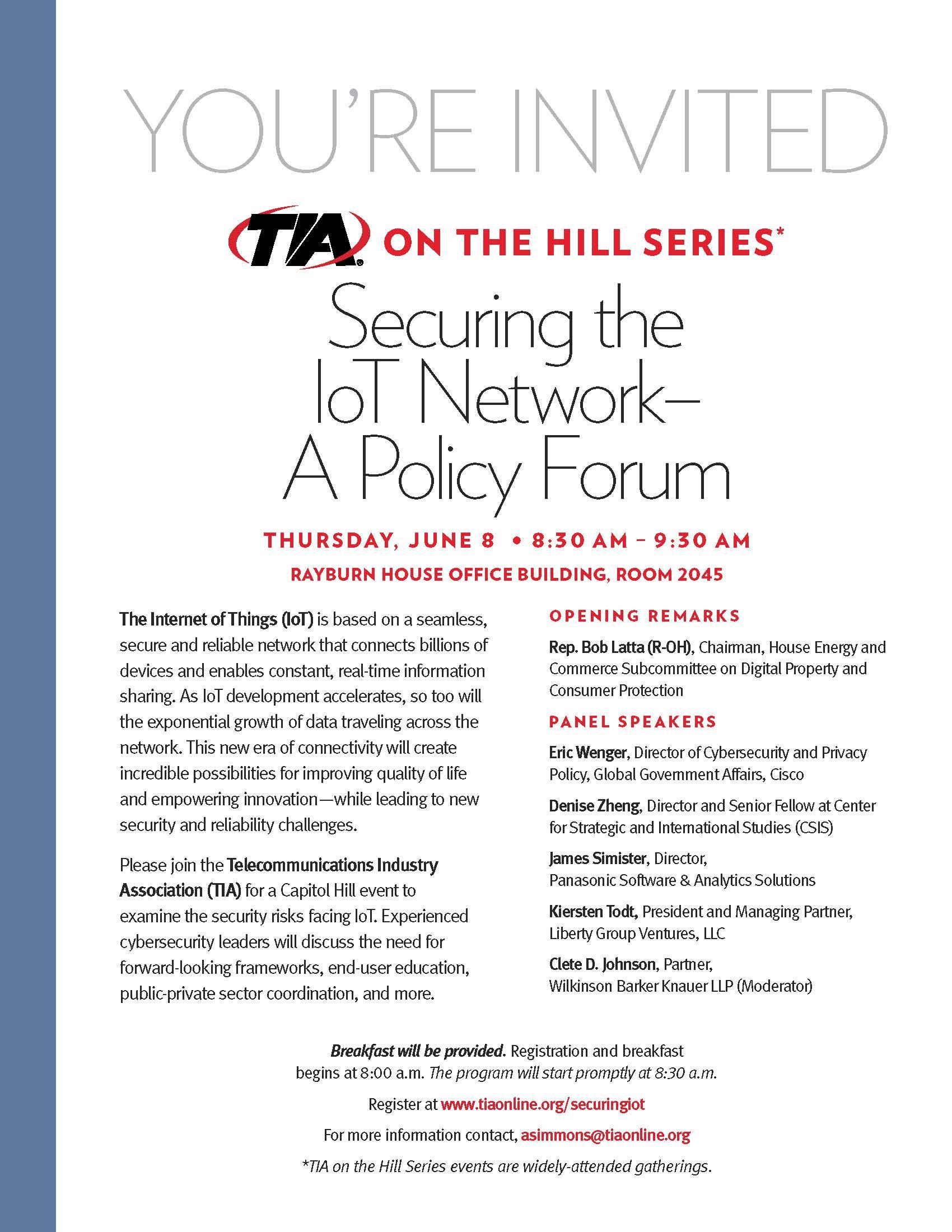 TIA on the Hill Invite