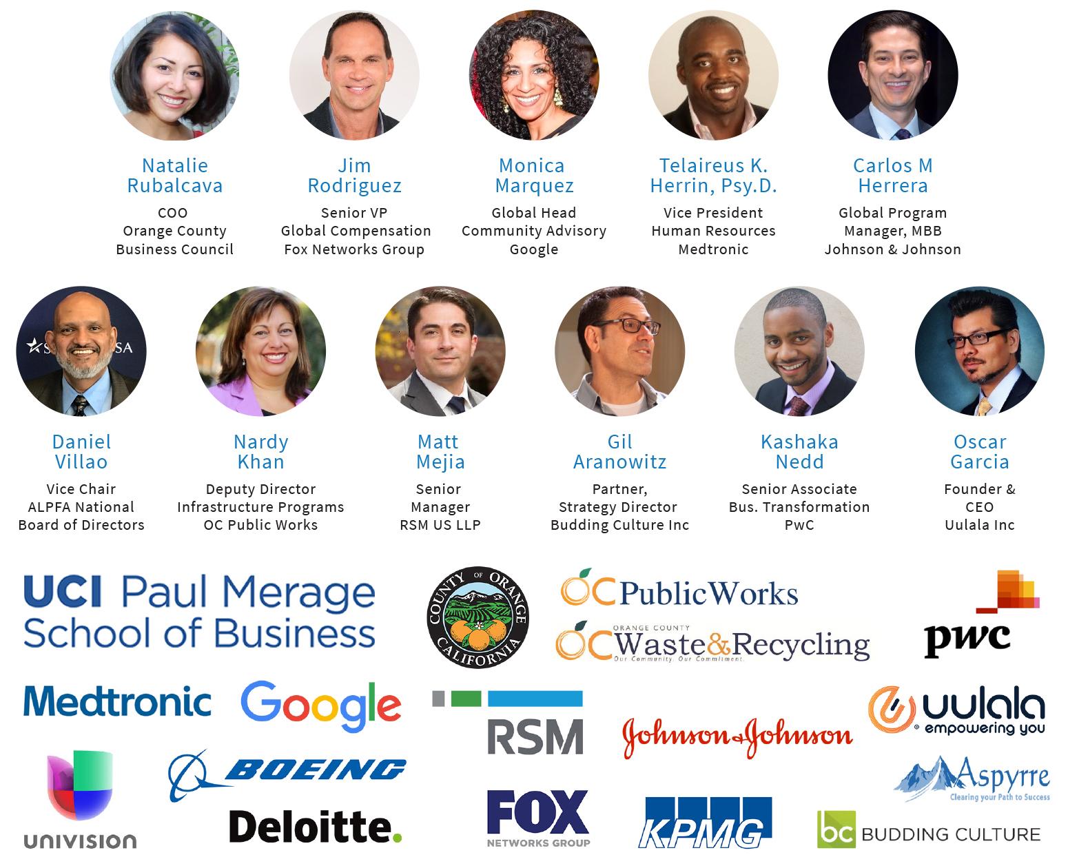 ALPFA OC Summit Speakers and Sponsors