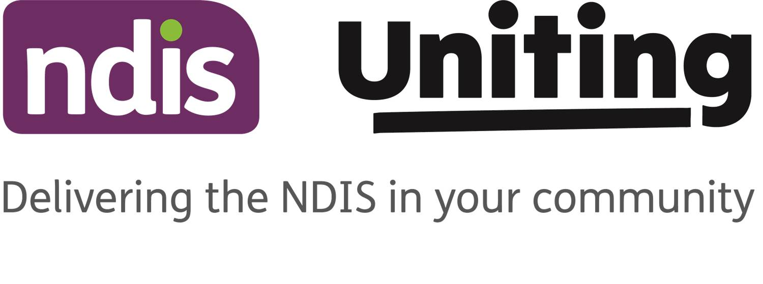 Uniting and NDIS logo