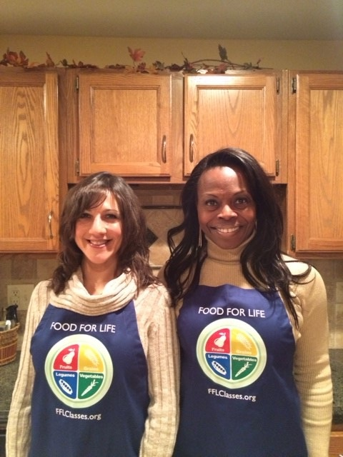 Pam and Gigi Food For Life Instructors