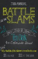3rd Annual Battle of the Slams