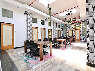 Fourth Floor Open Desk