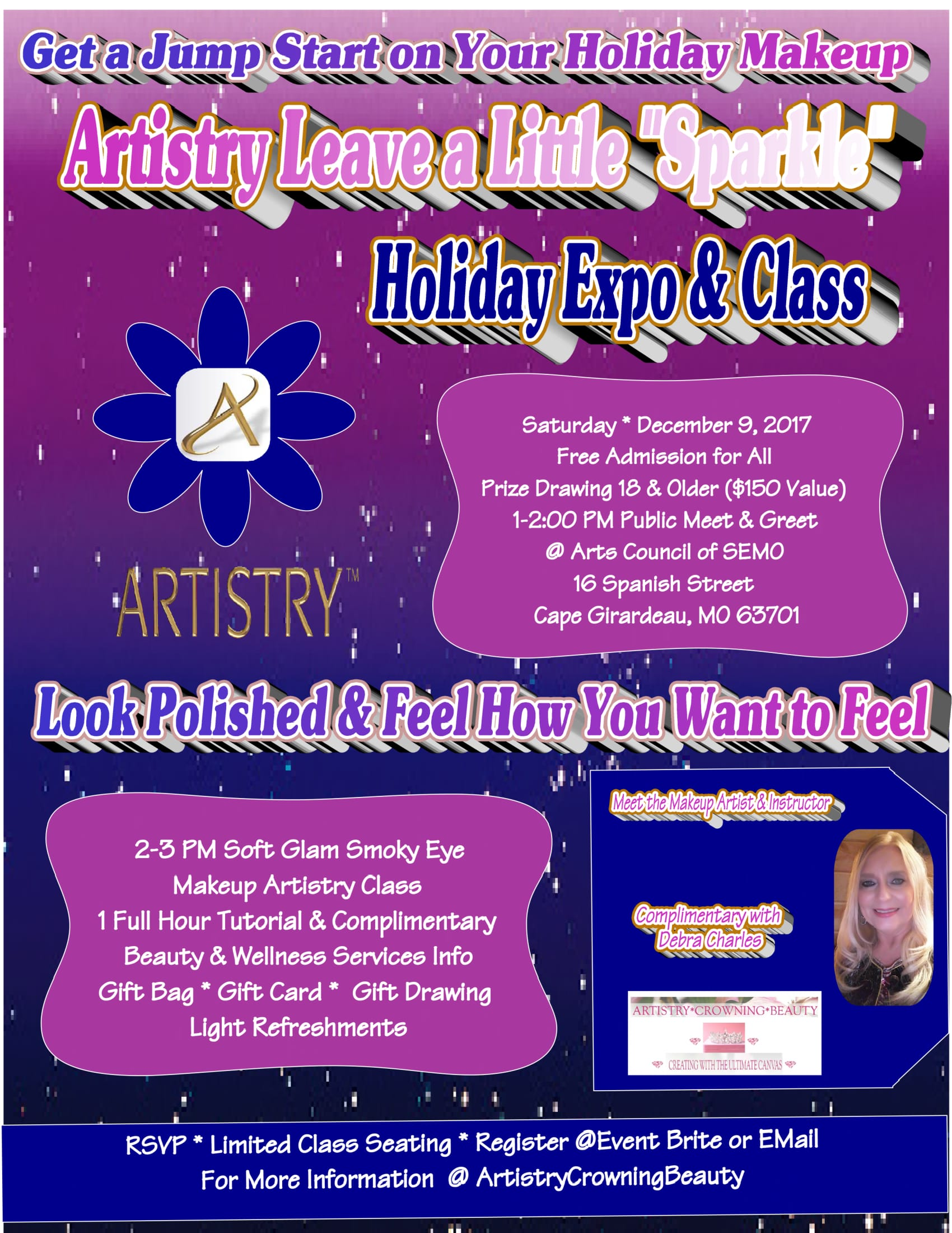 Artistry Holiday Expo & Class