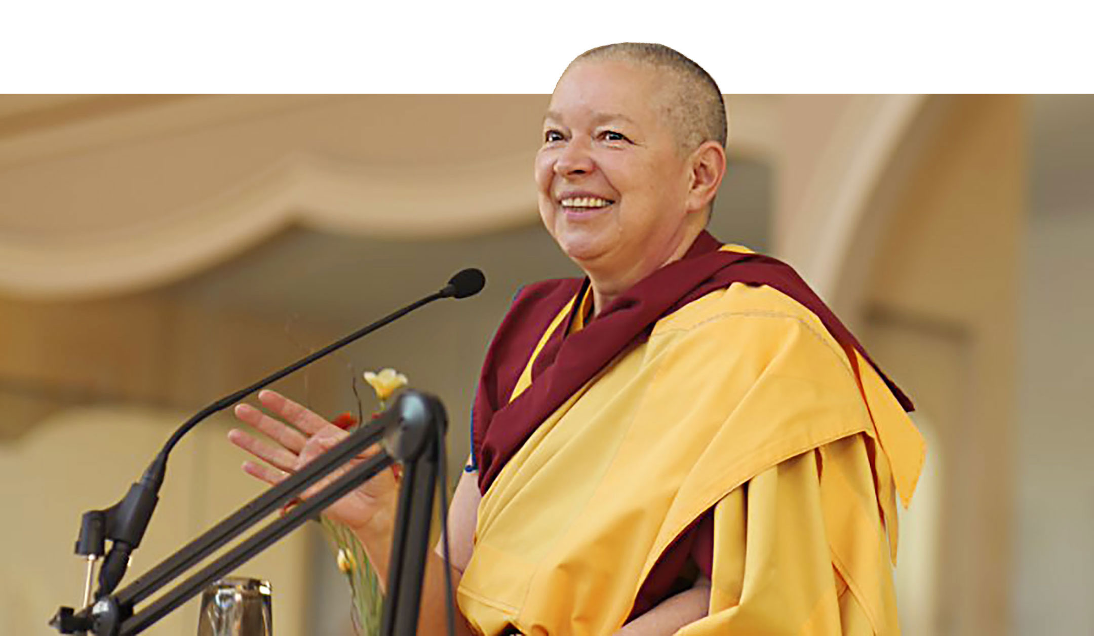 Gen-la Kelsang Kunsang, Principal Teacher at Kadampa Meditation Centre Glasgow