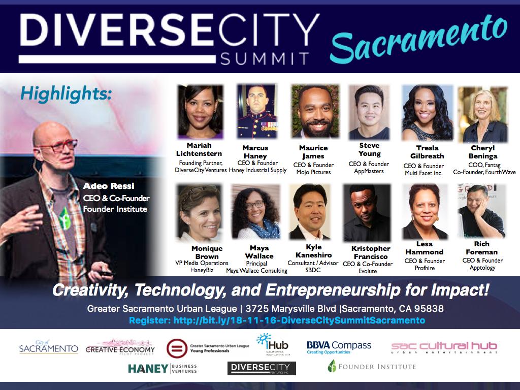 DiverseCity Summit Speakers and Sponsors