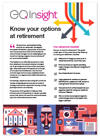 EQ Guide - Know your options at retirement