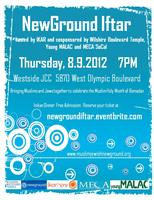 NewGround Iftar hosted by IKAR cosponsored by Wilshire...