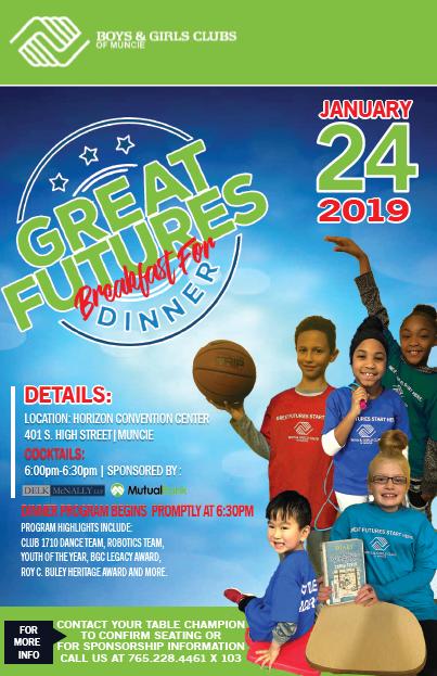 Great Futures Dinner Flyer