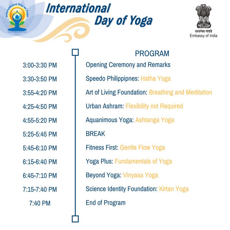 Yoga Day Program
