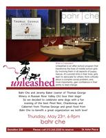 Thomas George Winery & Bahr Che support Unleashed