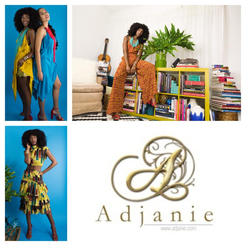 Adjanie collage