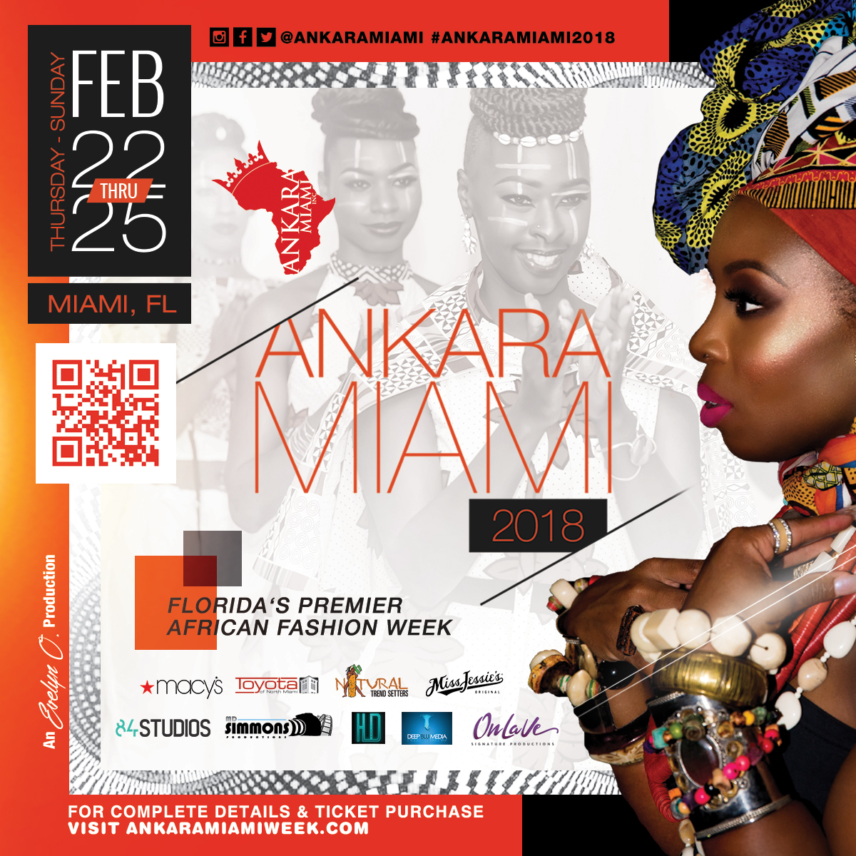 Ankara Miami 2018 Florida S Premier African Fashion Week