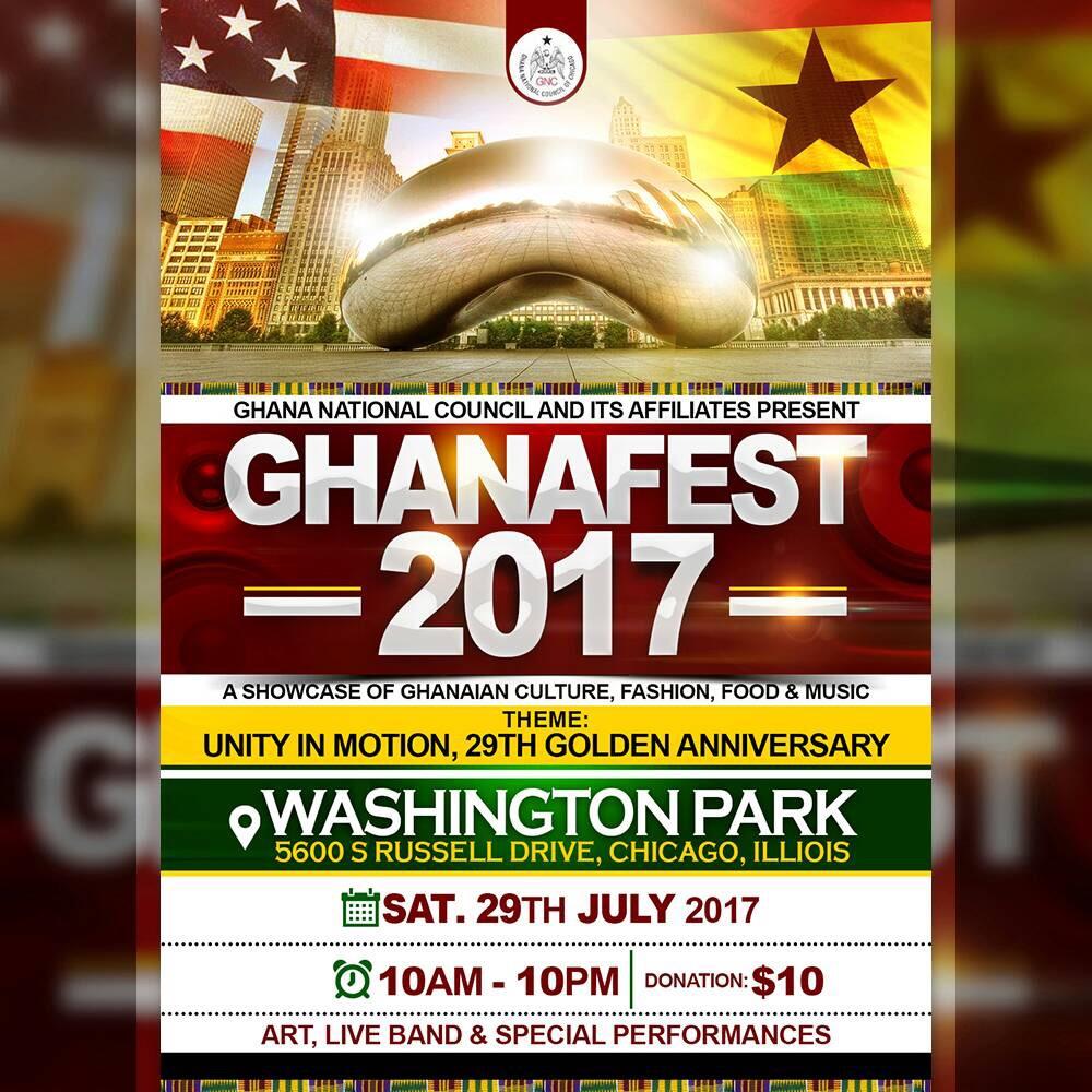 Ghana national council of chicago - Description
