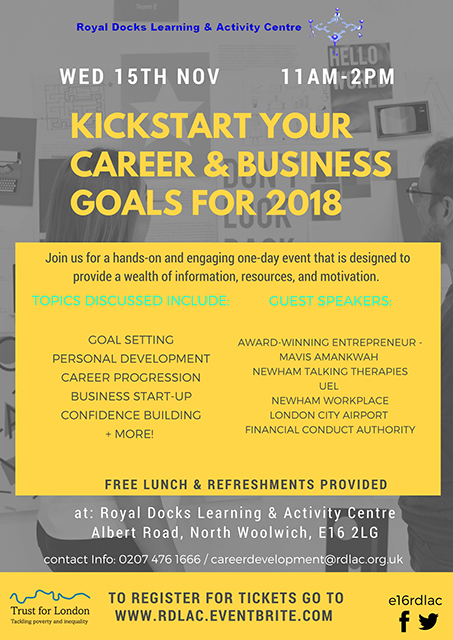 RDLAC Career & Business Goals Event
