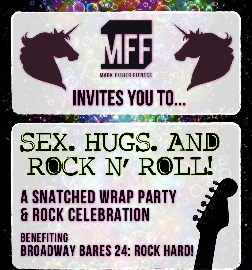 SEX. HUGS. AND ROCK N ROLL.