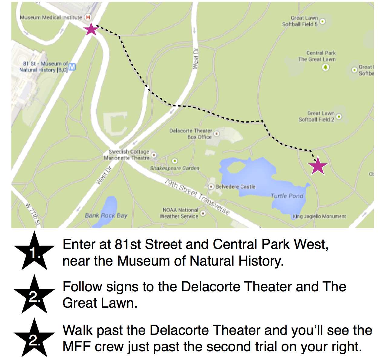 Directions to the Orgy