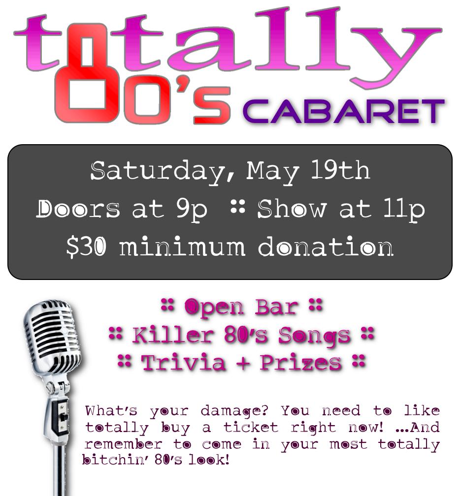Totally 80's Cabaret