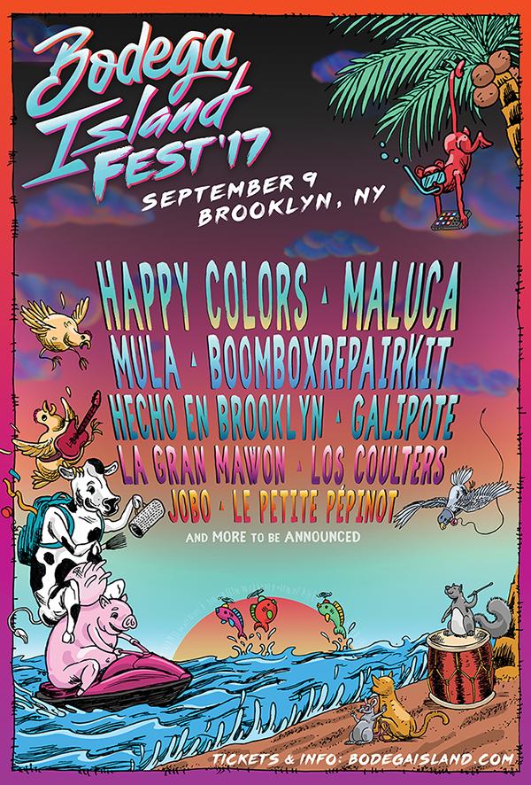 bodega Island Fest Flyer