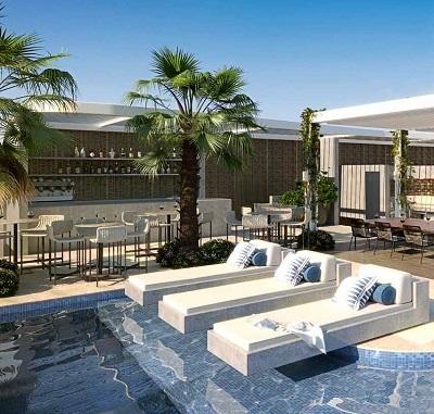 P Residences pool