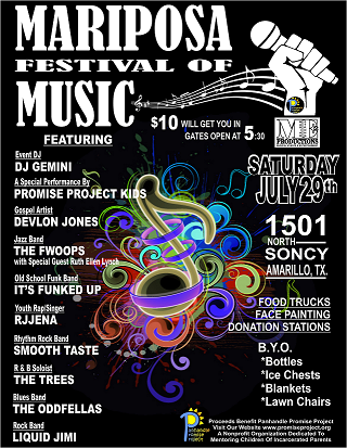 Mariposa Flyer with Bands