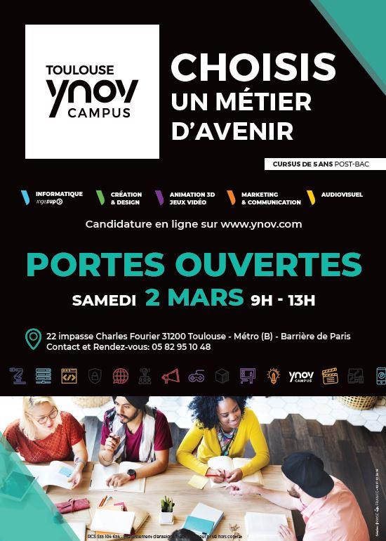 JPO Toulouse Ynov Campus