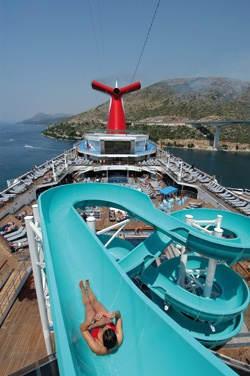 Cruise Twisted Water slide