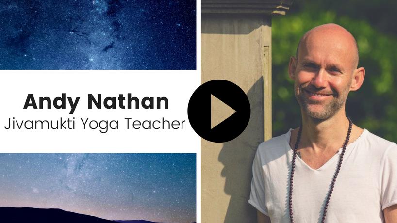Jivamukti Yoga Teacher Andy Nathan